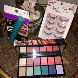 EYE MAKEUP BUNDLE: Kiss, LA Girl & Covergirl